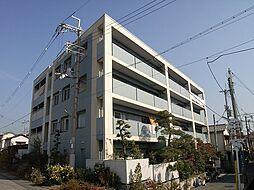 大阪府池田市桃園1丁目の賃貸マンションの外観
