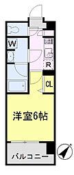 ガーラ・ヴィスタ川崎[9階]の間取り