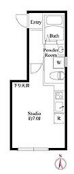 東武東上線 下赤塚駅 徒歩4分の賃貸アパート