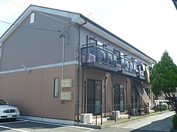静岡県榛原郡吉田町住吉の賃貸アパートの外観