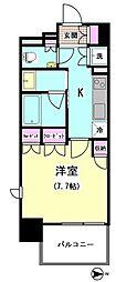シェフルール雪が谷大塚ステーションスイート[304号室]の間取り