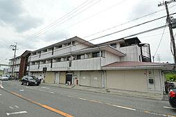 大阪府箕面市粟生間谷東2丁目の賃貸マンションの外観