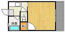 サニーフラット野多目(通常プラン)[203号室]の間取り