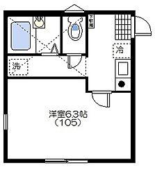 モントレー〜MONTEREY〜[1階]の間取り