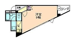 大阪府豊中市走井3丁目の賃貸マンションの間取り