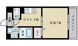 第18関根マンション[6階]の間取り