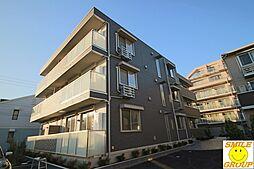 千葉県市川市鬼高1丁目の賃貸アパートの外観