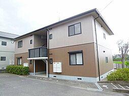福岡県糸島市篠原東2丁目の賃貸アパートの外観