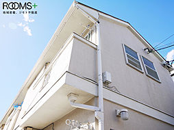 東京都世田谷区北沢5丁目の賃貸アパートの外観