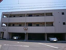 愛知県岡崎市若松町字大廻の賃貸アパートの外観