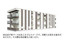 (仮称)D-room大領5丁目[2階]の外観