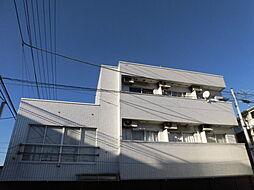 千葉県市川市国府台5丁目の賃貸アパートの外観