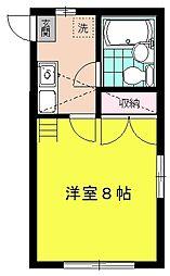 ケーハウス21[1階]の間取り