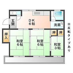 マンションTU[1階]の間取り