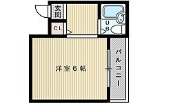 ダコタハウス[4階]の間取り
