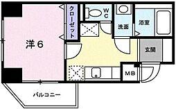 IRIE 武蔵野[5階]の間取り