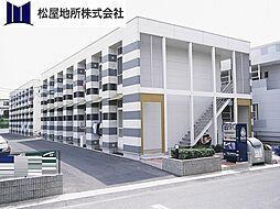 愛知県豊橋市一色町字西内張の賃貸アパートの外観