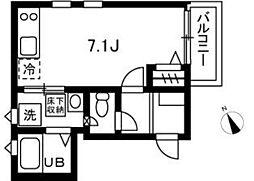 (仮称)鬼高2丁目共同住宅(B棟)[1階]の間取り