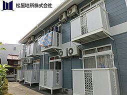 愛知県豊橋市西羽田町の賃貸アパートの外観