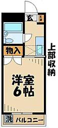 神奈川県川崎市麻生区栗平1丁目の賃貸マンションの間取り