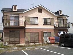 クレセントガーデンA棟[2階]の外観