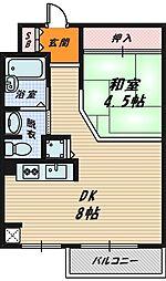 エルパラッツォ京橋[1階]の間取り