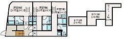マレーア高円寺 2階1Kの間取り