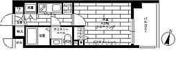 ステージグランデ三軒茶屋AC[607号室]の間取り