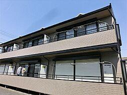 東京都練馬区田柄2丁目の賃貸アパートの外観