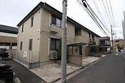 東京都江戸川区上一色2丁目の賃貸アパートの外観