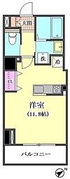 仮)新日本リフトマンション[802号室]の間取り