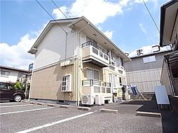 岡山県倉敷市西尾の賃貸アパートの外観