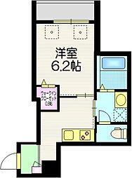 仮称 町屋8丁目メゾン 2階1Kの間取り