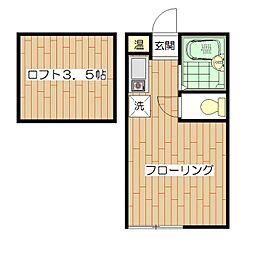 メゾンARAIII[2階]の間取り