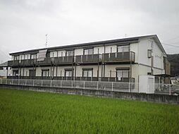 岐阜県関市小瀬の賃貸アパートの外観