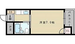 エクトI[3階]の間取り