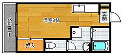フレグランス石坂[102号室]の間取り