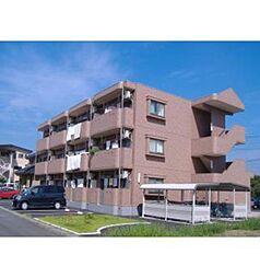 栃木県栃木市野中町の賃貸マンションの外観