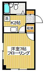 東京都世田谷区桜上水4丁目の賃貸マンションの間取り