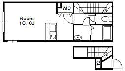 MJ本八幡[2階]の間取り