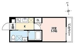Summer Club 座間(サマークラブザマ)[1階]の間取り