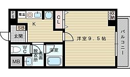 レッドウェル菅原[4階]の間取り
