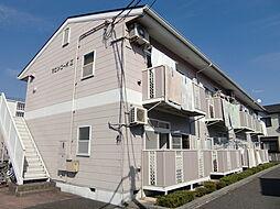 埼玉県狭山市広瀬東3丁目の賃貸アパートの外観