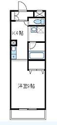 神奈川県相模原市南区相模台2丁目の賃貸マンションの間取り