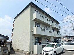 東京都日野市大字上田の賃貸マンションの外観