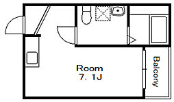 ARABESQUE[3階]の間取り