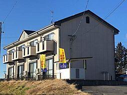 長野県小諸市大字八満の賃貸アパートの外観
