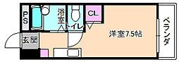 レオハイム長尾3[3階]の間取り