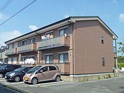 静岡県牧之原市大沢の賃貸アパートの外観