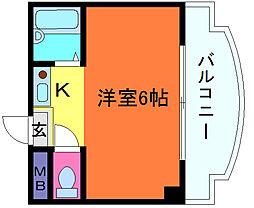 兵庫県神戸市灘区篠原南町7丁目の賃貸マンションの間取り
